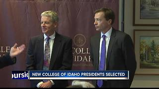 College of Idaho appoints two new co-presidents - Video
