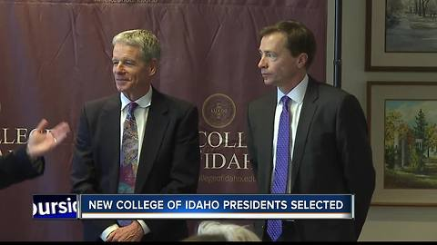 College of Idaho appoints two new co-presidents
