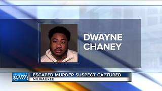 US Marshals take Dwayne Chaney into custody - Video