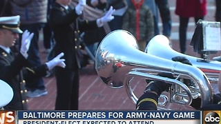 Pep rally gets people excited for Army/Navy game - Video