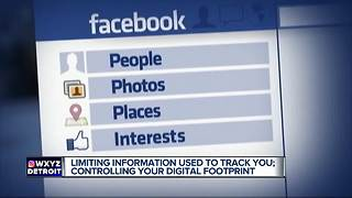 Limiting your digital footprint - Video