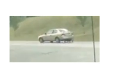 Kentucky Driver Uses Dolly as Rear Tire in Pikeville