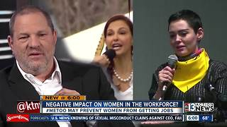 Could #MeToo movement have negative impact on women in the workforce? - Video
