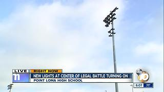 New lights at center of legal battle