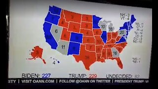 One American News Shares Correct Current Election Map