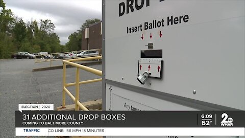 Baltimore Co. adding 31 additional drop boxes