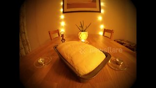 Watch this calming timelapse video of bread rising - Video