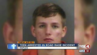 Collier Teens arrested for road rage incident - Video