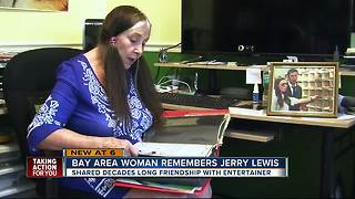 Tampa woman shares friendship with Jerry Lewis - Video
