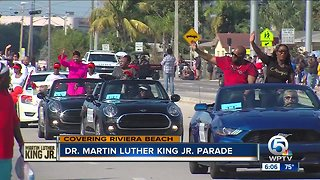 Dr. Martin Luther King Jr. Parade held in Riviera Beach