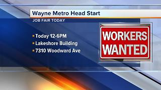 Workers Wanted: Wayne Metro Head Start