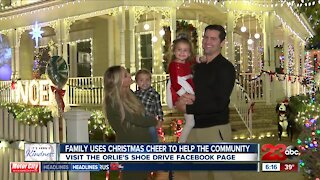 Bakersfield family uses Christmas cheer to help the community