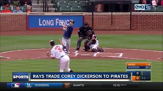 Tampa Bay Rays trade Corey Dickerson to Pirates for Daniel Hudson, Tristan Gray - Video
