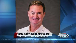 Northwest Fire District names new fire chief - Video