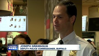 Have coffee with a Buffalo cop this weekend