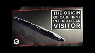The Origin of Our First Interstellar Visitor - Video