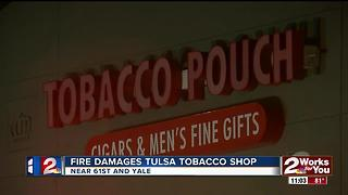 Small electrical fire damages Tulsa Tobacco Shop
