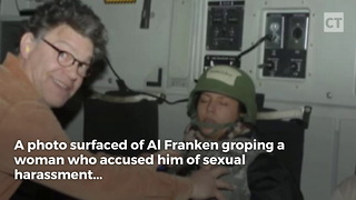 Al Franken Responds to Calls for Resignation. - Video