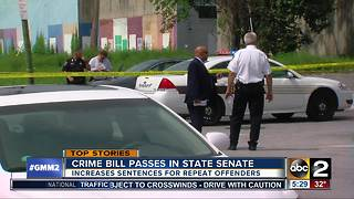 Maryland Senate approves crime-fighting initiatives