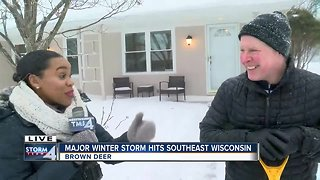 Major winter storm hits southeast Wisconsin