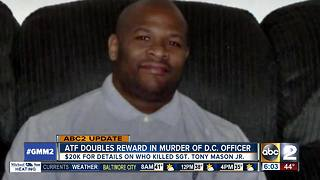 ATF offering $20K reward for information on off-duty D.C. officer's murder - Video