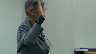 Former Martin County commissioner takes stand in her own defense - Video