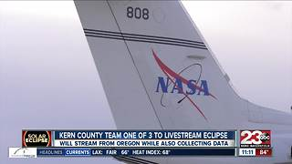 Kern County NASA team set to broadcast eclipse for the nation - Video