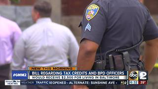 Tax incentive for Baltimore first responders clears hurdle - Video