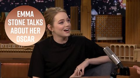 Emma Stone reveals the best thing about winning her Oscar