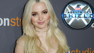 Dove Cameron TEASES Fans Over Her Mysterious 'Agents of S H I E L D ' Character - Video