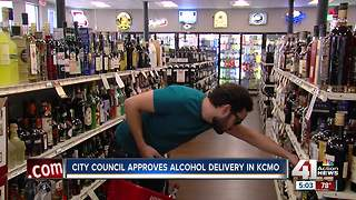 Alcohol delivery to your home now legal in KC