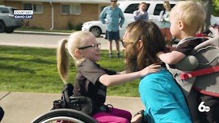 Challenged Athletes Foundation gives out three GRIT wheelchairs to children in Idaho