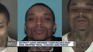 Detroit's Most Wanted: Jerome McNeil a documented member of the Bloods - Video