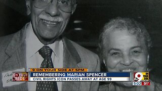 Remembering civil rights activist Marian Spencer