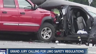 Grand jury pushes for limosuine safety regulations - Video