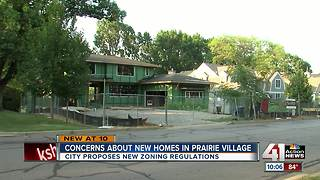 Prairie Village considers zoning changes - Video