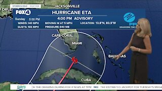 Hurricane Eta heading towards parts of South Florida