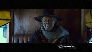 Stars of The Hateful Eight talk Tarantino in London
