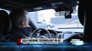 Uber 'winding down' testing of autonomous vehicles in Arizona