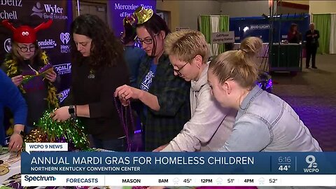 Celebrate Mardi Gras and help homeless children at the same time