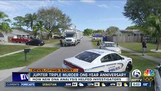 Monday marks 1-year anniversary of Jupiter triple homicide - Video