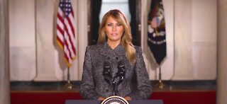 First Lady Melania Trump releases farewell address