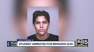 Coronado High School student arrested for posting threat to social media - Video