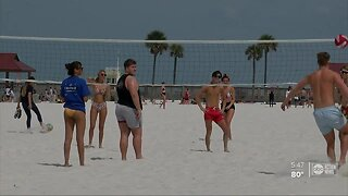 Governor announces no groups of more than 10 people on Florida beaches