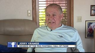 Jerry Kramer talks about his Hall of Fame Day - Video