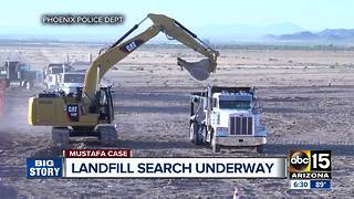 A look at how the landfill search for a missing woman will be organized - Video