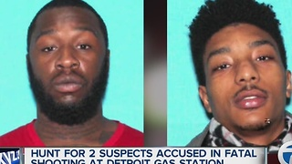 Suspects identified in gas station murder