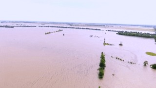 Parts of Northern Arkansas Underwater Due to Levee Failure - Video