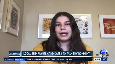 Denver activist, 13-year-old Haven Coleman, wants 2020 presidential candidates to talk environment