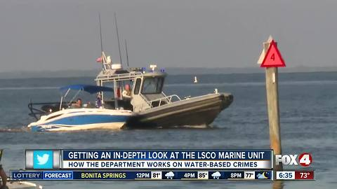 An in-depth look at the LCSO Marine Unit